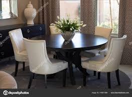 Runder Tisch Stühle Esszimmer Stockfoto Weezybob5