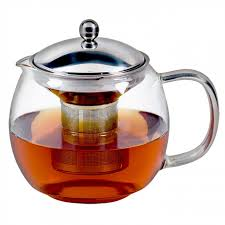 avanti ceylon glass teapot with infuser 1 25l 6 cup for nz 30 67 kitchenware super