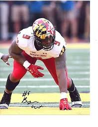 Byron Cowart Maryland Terps signed autographed 8x10 football photo 5 star c    eBay