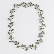 michael michaud olive necklace