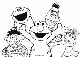 Sesame Street Printable Coloring Pages Unique Elmo Coloring Page
