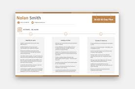 30 60 90 Day Plan Sales 69 00 Resumeshq Designer Resume