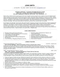 Business Administration Sample Resume Best of Sample General Resume Sample Resume For General Manager Business
