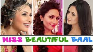 Diffrent Hair Style divyanka tripathis different hairstyles youtube 5768 by wearticles.com