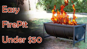Fire Drum Designs Diy Fire Pit Basic Welding