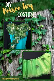 how to make a diy poison ivy costume tutorial with detailed list of supplies and
