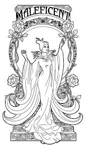 Small Picture Maleficent the Movie Coloring Pages Color Luna