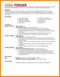 Sample Resume Legal Secretary Eliolera Com