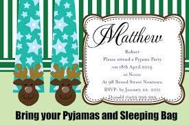 pajama birthday party invitations com pajama birthday party invitations how to make your own birthday invitations using word 16