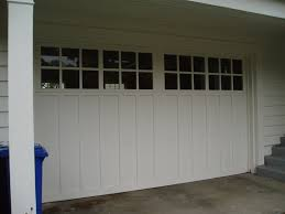 double carriage garage doors. Contemporary Doors CH13 Carriage House Wood Paint Grade Double With Flat Panels And True  Divided Lites To Garage Doors 9