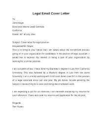 Cover Letter Law Firm Dew Drops