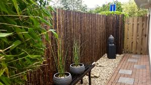 bamboo garden fence. Delighful Fence Black Bamboo Fencing To Garden Fence I