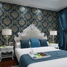 blue wallpaper for bedroom retro retro green wallpapers environmental non woven dark blue wallpaper living room blue wallpaper for bedroom