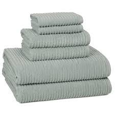Kassatex Urbane Turkish Cotton  Piece Towel Set  Reviews Wayfair - Hand dryers for bathrooms