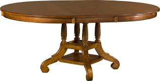 wilshire round oval dining table antique pine