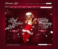 Free Christmas Website Templates Christmas Magento Theme 26984