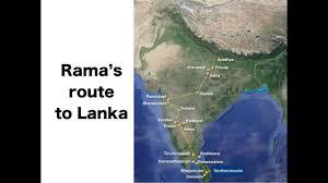 Ramas Route To Lanka Rama Vanvas Ramayan