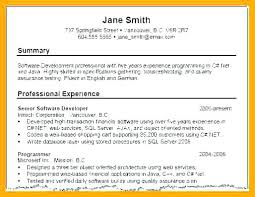 Example Of A Profile In A Resume Here Are Resume Profile Samples