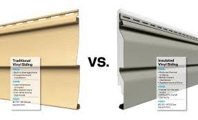 insulated vs uninsulated vinyl siding