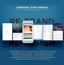 Tech Startup Web Design Tech Travel Startup Design On Student Show