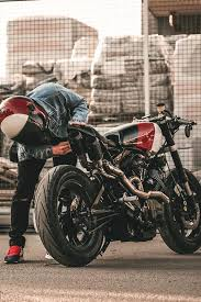 81 yamaha xv 750 se custom cafe racer