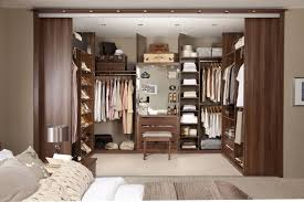 Dining Room Closet Elegant Brown Walk In Closet Design Idea With Clothes Wall And