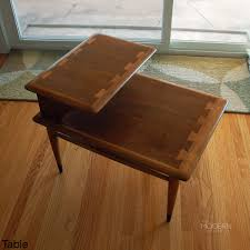 Lae1 Refinishing End Table This Lane Acclaim Stepped 6 Table Refinishing  End Table Q