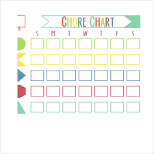 Chore Chart Samples Chore Chart Examples Creating And Using Family Chore Charts With
