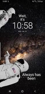 Lock screen wallpaper ...
