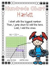 Three Hundred Chart Two Digit Three Digit Addition Strategies Centers