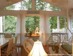 screened porch sheer curtains. Adding Curtains Or Sheers To Your Porch Screened Sheer R