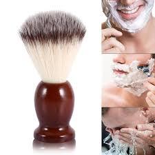 male beard shaving brush cleaning nylon hair barber tool fp