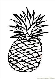 Small Picture Alif is for Ananas Pineapple Arabic Alphabets