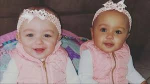 Twins born to white mother, black father have different skin colors ...