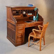 antique writing desks for new antique roll top writing bureau desk oak edwardian globe wernicke