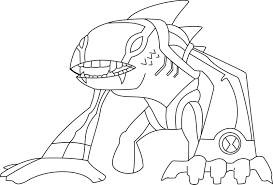 Small Picture Ben 10 Coloring Pages Coloring Kids