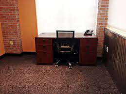 functional office furniture. traditional and functional office furniture pieces were used to fill the space with all essentials u