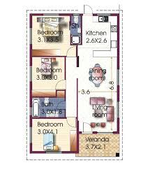 best 3 bedroom house designs floor plan for 3 bedroom house new bungalow house plan 3