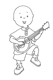 Caillou Coloring Pages - coloringsuite.com