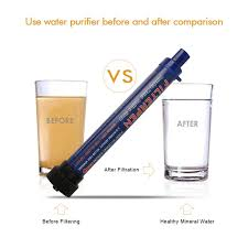 water purifier straw. Portable Water Filter 0.2 Microns Purifier Straw Purifying Outdoor Survival Gear Hiking Camping Drinking AliExpress.com