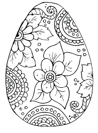 Easter Colouring Pages To Print Printable Easter Egg Coloring Pages