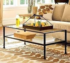 tanner coffee table tanner coffee table pottery barn tanner round coffee table polished nickel finish