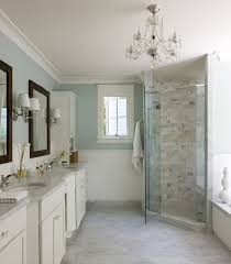 bathroom chair rail designs. dream bathroom: liz levin interiors master bathroom with spa blue walls , chair rail designs