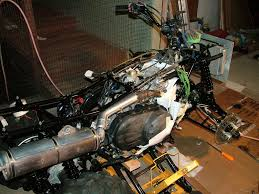 removing engine from 660 grizzly riders yamaha grizzly atv forum Grizzly 660 Wiring Diagram note that it is almost impossible to get the engine out with the front wheels on so you will need to support the frame with blocks or an atv jack like i grizzly 660 wiring diagram