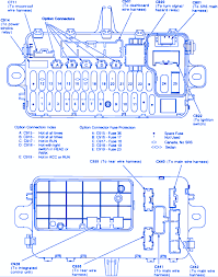 fuse box diagram honda civic si fuse wiring diagrams