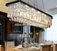 dining room crystal chandelier lighting dining room crystal chandelier lighting modern contemporary rectangle rain drop