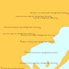 Parker Run Upper End Little Egg Harbor New Jersey Tide Chart