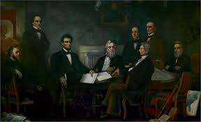 The First Reading of the Emancipation Proclamation of President ...