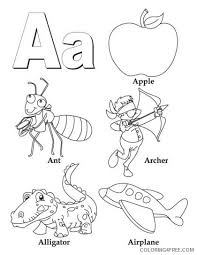 Play coloring games at y8.com. Letter A Coloring Pages All Starts With A Coloring4free Coloring4free Com