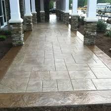 stamp concrete patio design ideas